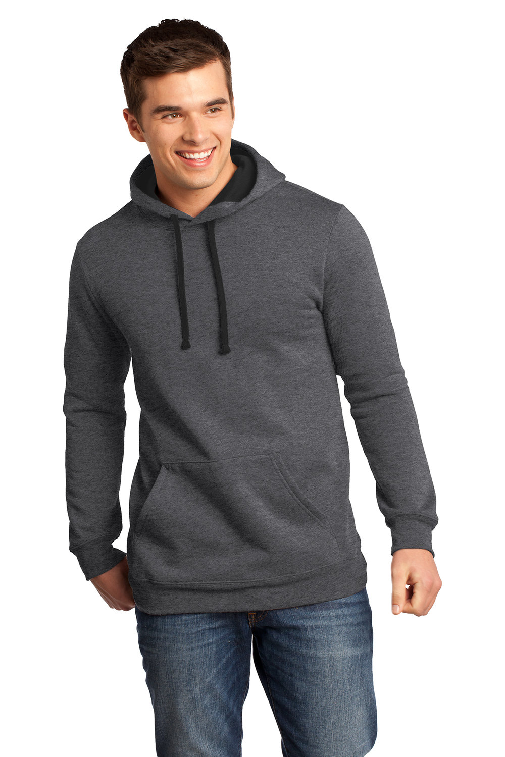 Men's sweatshirt - Charcoal (shown), Heather Gray, Black Royal Blue, Navy    | $22