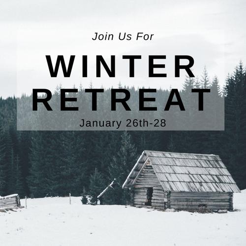 Winter Retreat January 26-28 | Register Now