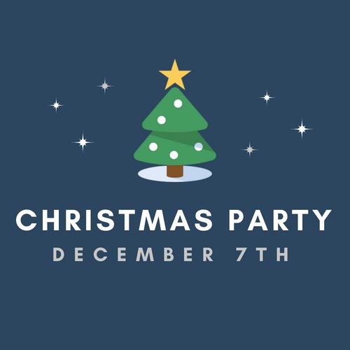 CCF Christmas Party  Friday Dec. 7th | Hillcrest Chapel