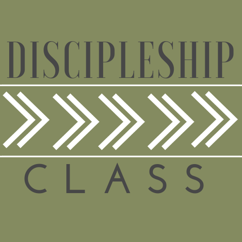 Discipleship Class  Register by January 1st