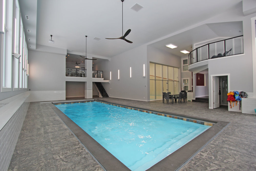 Indoor Pool Addition