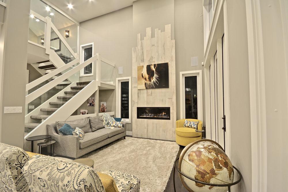 Living Room & Stair