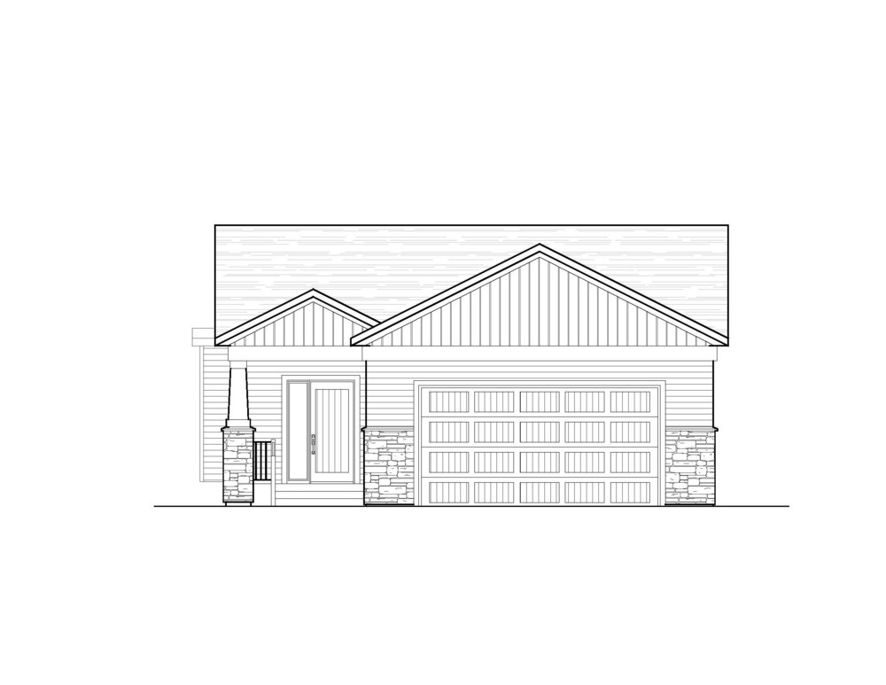 Willow - Starting at $299,000Bungalow | 1,202 sf