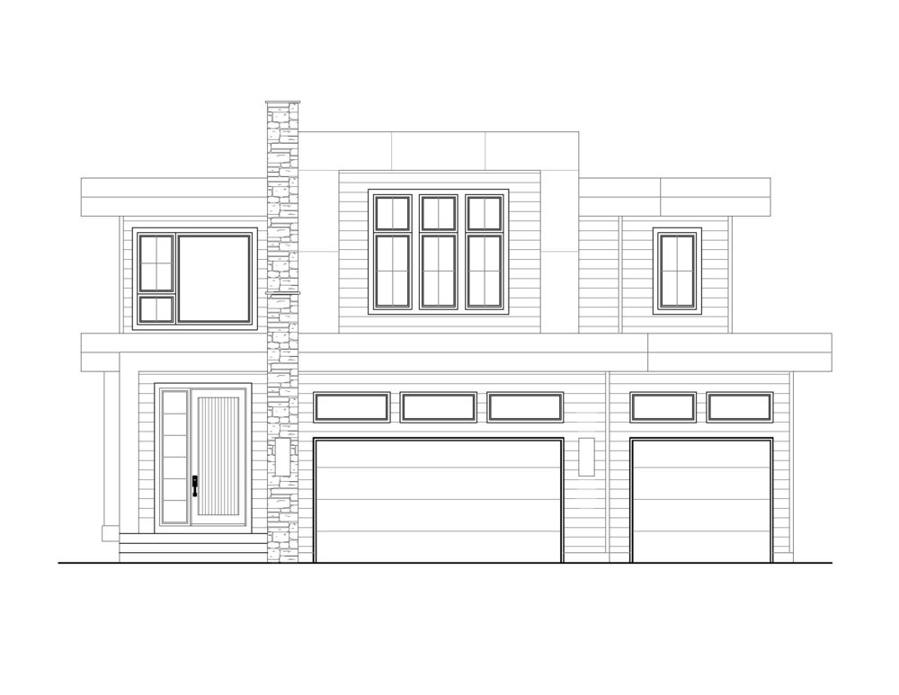 Brixton - Two-Storey | 3,009 sf