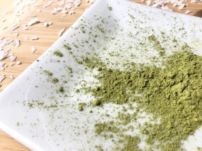 matcha green tea - vegan gluten free paleo keto