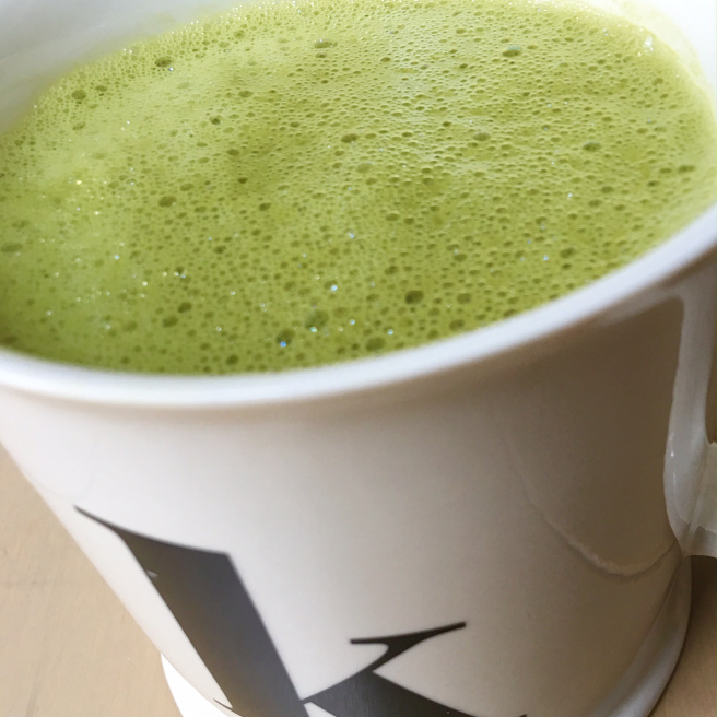 healthy matcha green tea - gluten free vegan paleo
