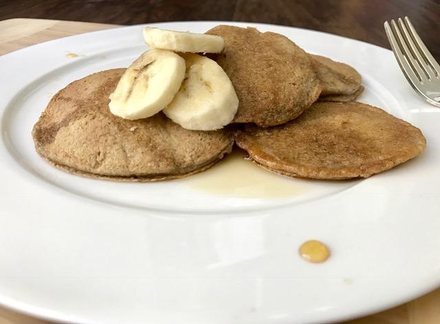 pancakes flourless, gluten free, vegan