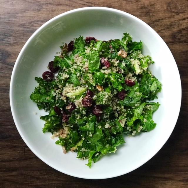 Kale & Quinoa Salad - A Prebiotic Bowl of Goodness