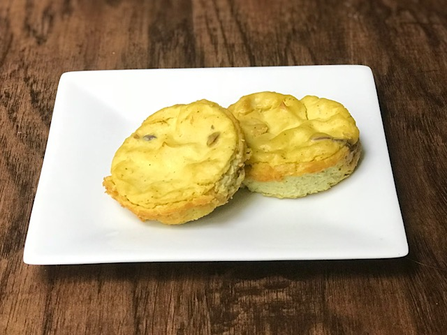 Mini Eggless Quiche
