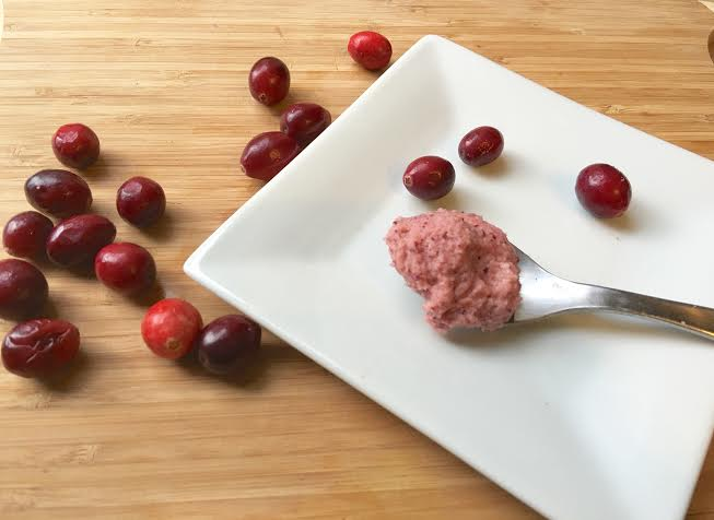 Creamy, no sugar added, Cranberry Frosting - www.getWelli.com