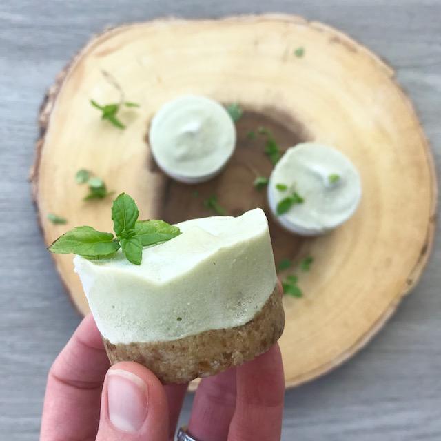 Peppermint Cream Cakes - www.getWelli.com - #vegan #getWelli #paleo #glutenfree #grainfree #sugarfree