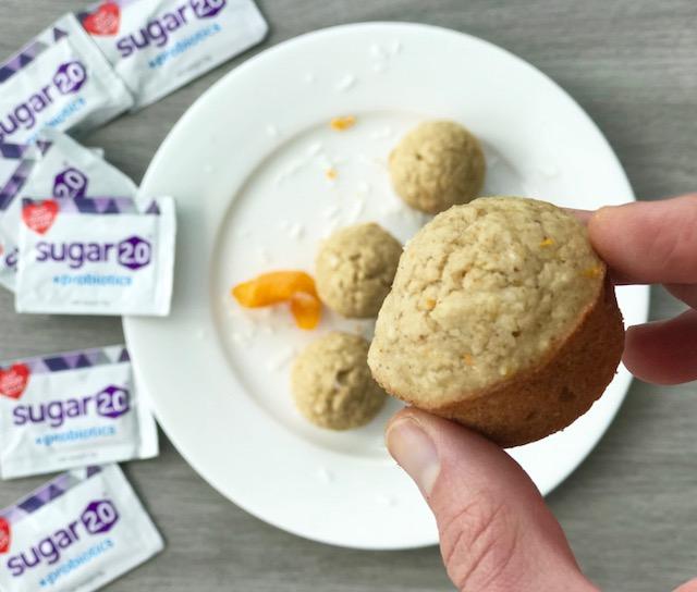 Orange Coconut Mimosa Muffins - www.getWelli.com - #getWelli #glutenfree #vegan #flourless #sugarfree #mimosas