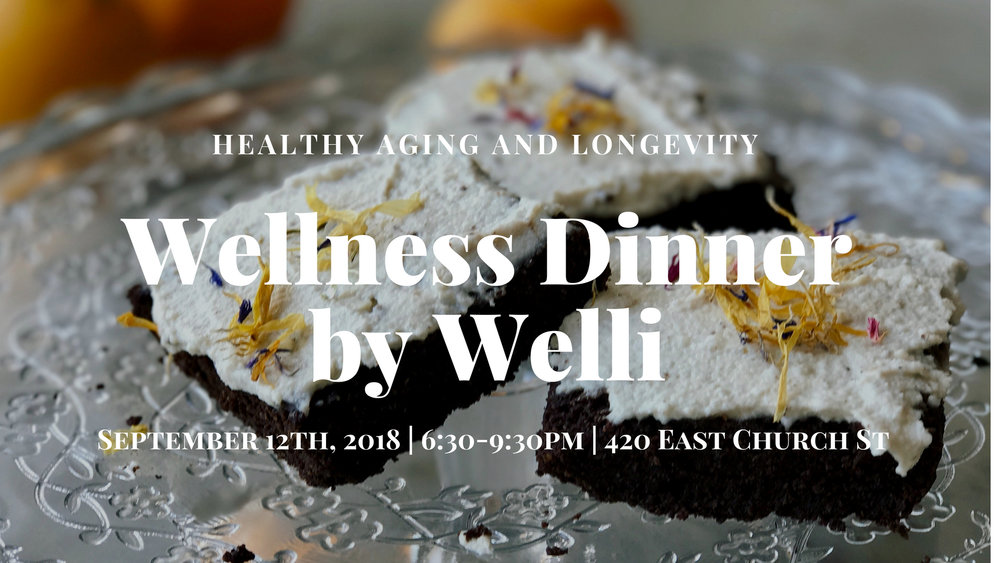 Wellness Dinner with Welli - www.getWelli.com - #Orlando #vegan #health #wellness #event