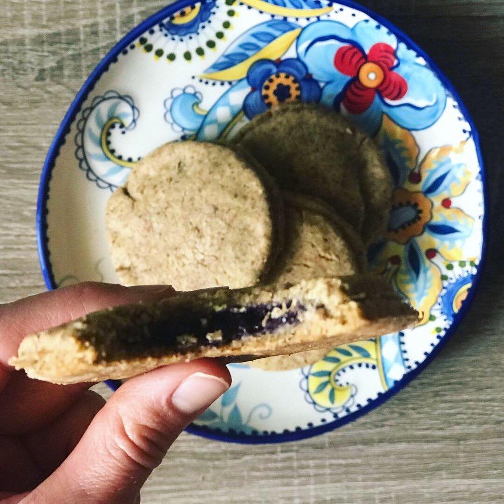 protein pop tarts - www.JoyfulGoodness.com - #beJoyful #grainfree #glutenfree #vegan #paleo #sugarfree #breakfast #protein #JoyfulGoodness
