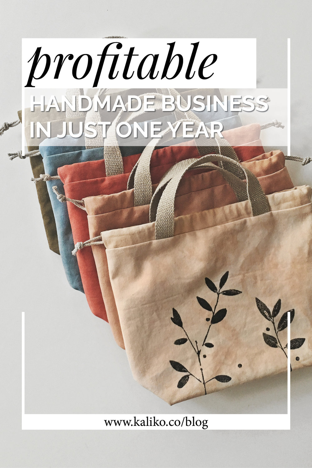 Profitable handmade business in just one year