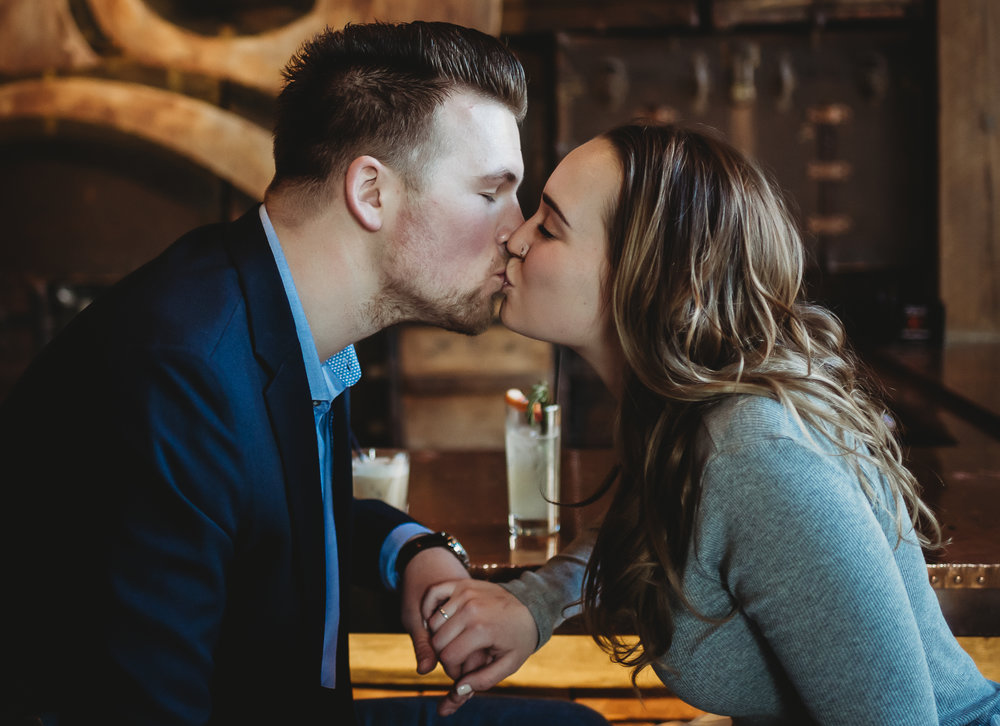 Rusted Crow Detroit Engagement