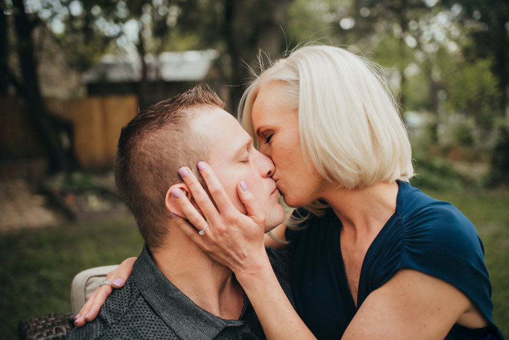 Detroit Michigan In Home Engagement Session