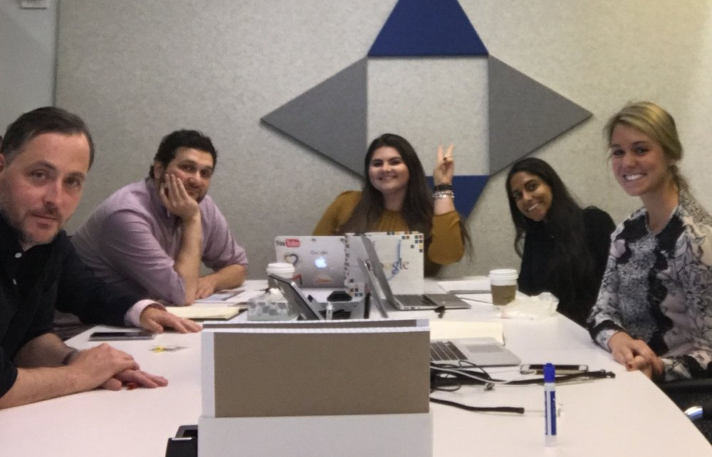Dagne Dover Strategy Session at Google's Offices