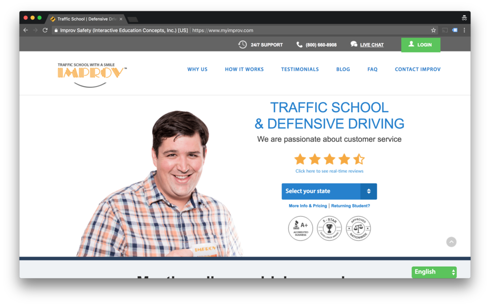 My Improv Traffic hires Mason Interactive for SEO, Search and Social