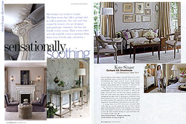 Traditional Home - November 2008  Feature Article