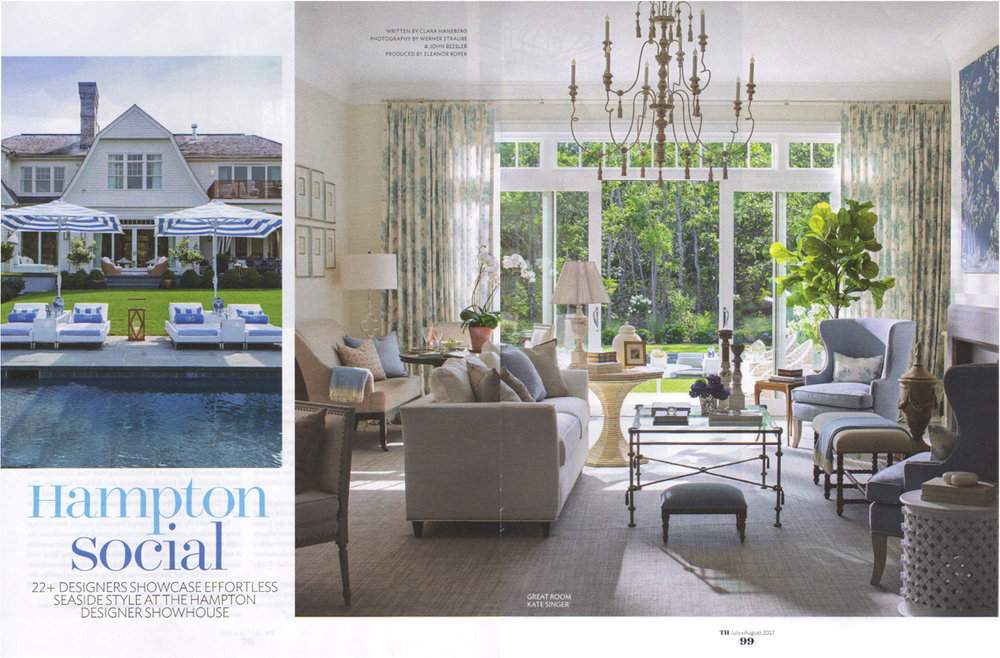Traditional home july august 2017 kate singer home for Traditional home designer showhouse 2017