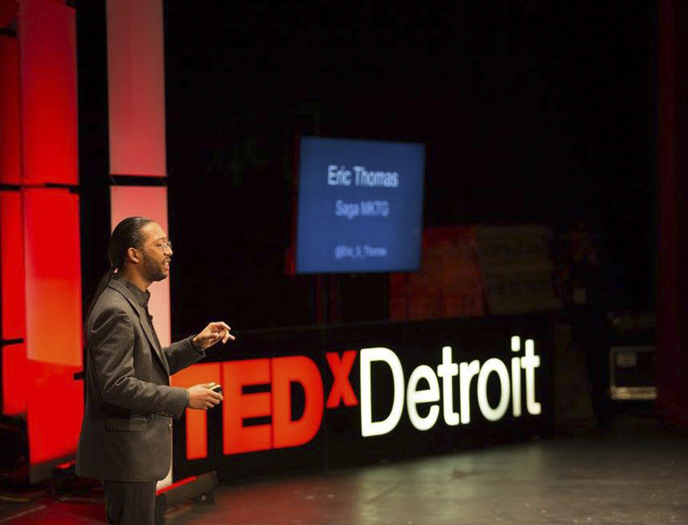 How to Give a Community it's Voice. TEDxDetroit 2016