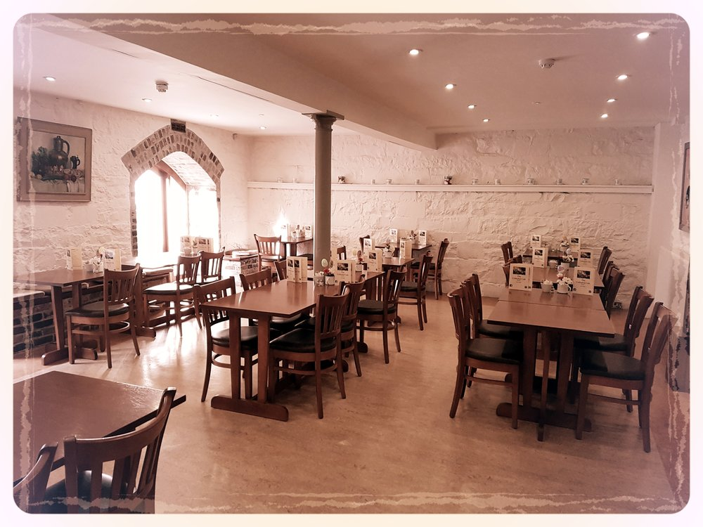 Serene Surroundings - The Cafe's quaint and homely atmosphere is in keeping with the feeling of serenity that runs throughout the building. It is the perfect place to escape from everything and relax. Have a cup of tea and a chat or to enjoy the homemade soups, snacks, hot lunches or desserts. Located just off the Medieval Mile we are the perfect base to plan your tour of our beautiful city.