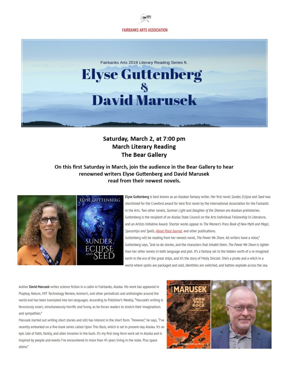 Marusek and Guttenberg reading March 2019 Bear Gallery.jpg