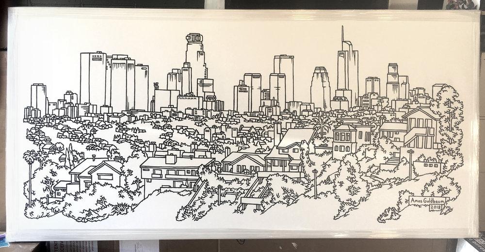 """""""LA Skyline"""""""