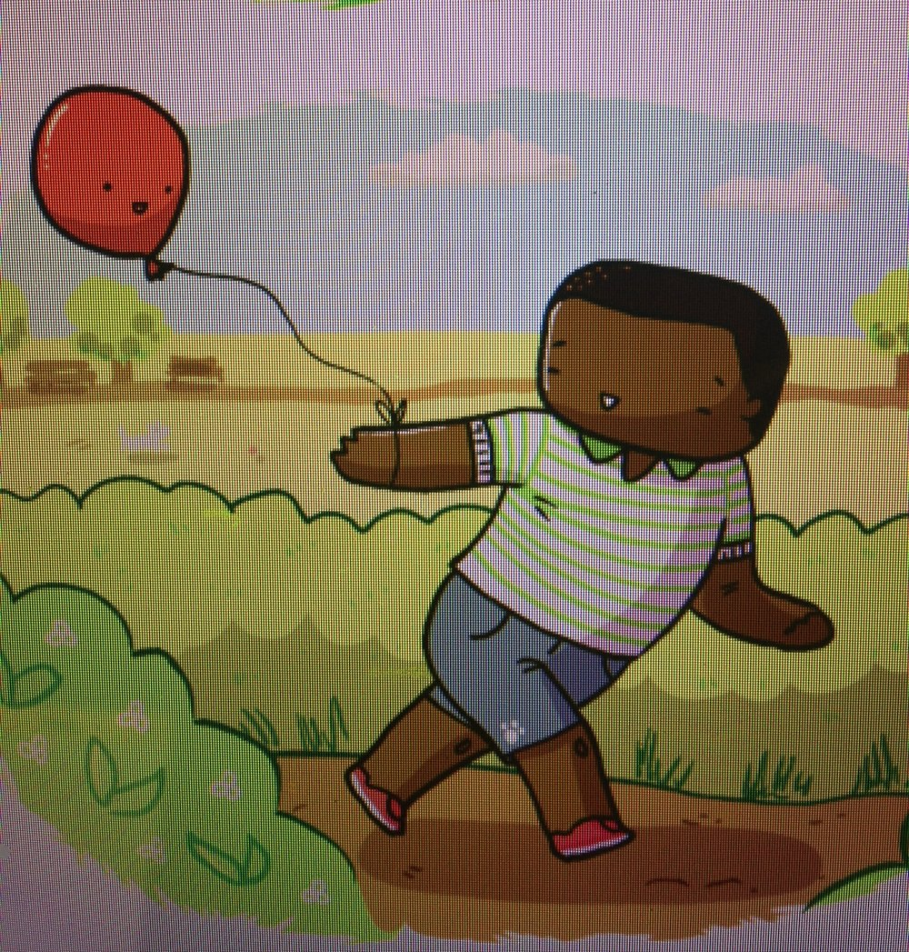 The Lonely Balloon - INTERACTIVE STORYBOOK APP PROTOTYPE