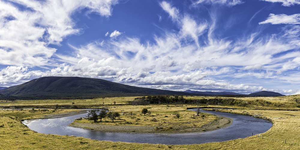 Windswept Plains - Ushuaia, Tierra del Fuego, Argentina