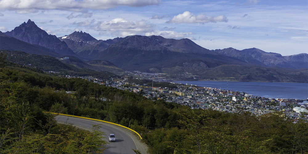 Ushuaia Vista - Tierra del Fuego, Argentina