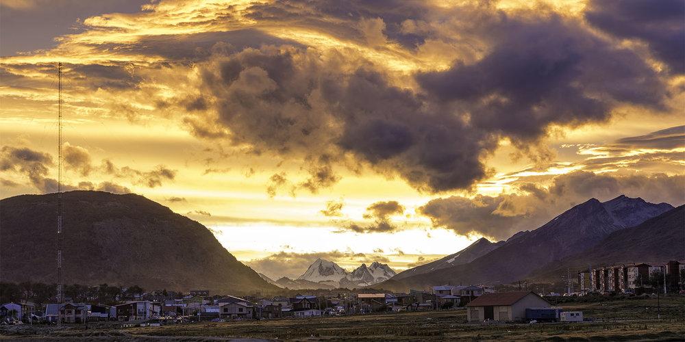 Sunset - Ushuaia, Tierra del Fuego, Argentina