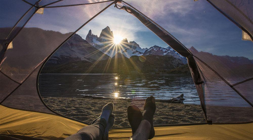 Camping - El Chalten, Argentina - Patagonia