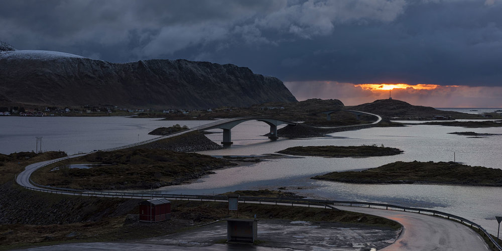 Twin Bridges - Flakstad, Lofoten, Norway
