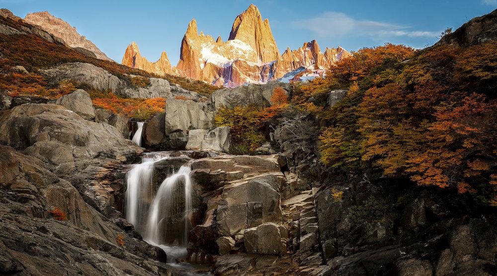 Mount Fitz Roy Sunrise - El Chaltén, Argentina