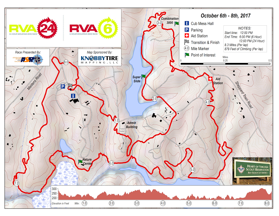 Course Map -
