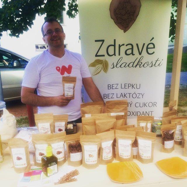 Na Eco Village nechybali ani zdrave-sladkosti.sk 🍫👌🏻#ev #eco #ecolife #ecovillage #zdravesladkosti