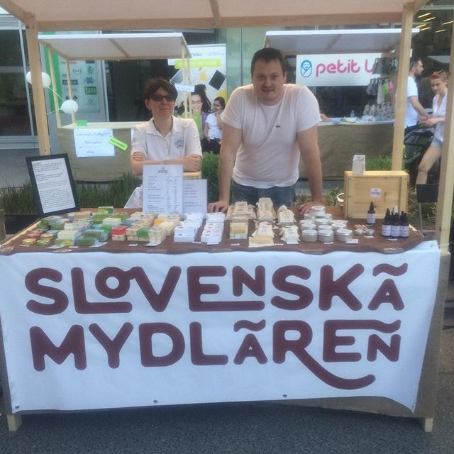Na Eco Village nechyba ani Slovenská mydláren 👌🏻🙏