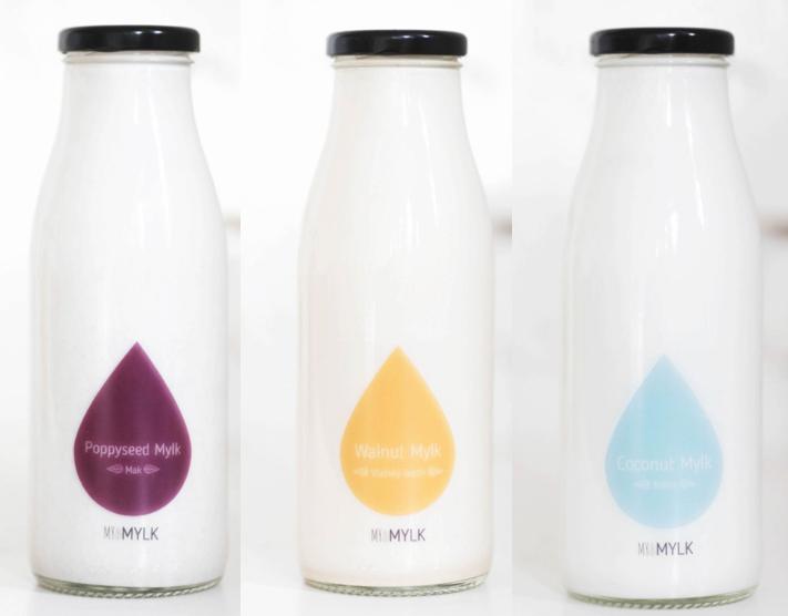MY MYLK - Rastlinné čerstvé mliečka, plné chuti, vyrábané s láskou.Makové, mandľové, vlašsko orechové, kokosové, konopné a ďalšie.