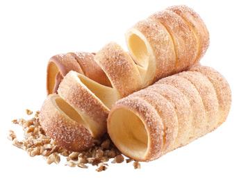 TRDELNÍK VŽDY ČERSTVÝ - Malá poctivá rodinná firma .Trdelníky vyrábajúpodľa vlastnej receptúry z kvalitných domácich surovín. V ponuke majú: orechový, škoricový, vanilkový, kakaovýa kokosový.