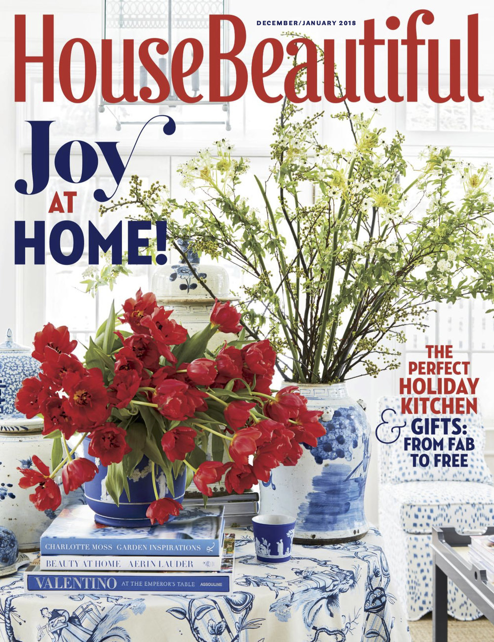 House Beautiful, Dec / Jan 2018