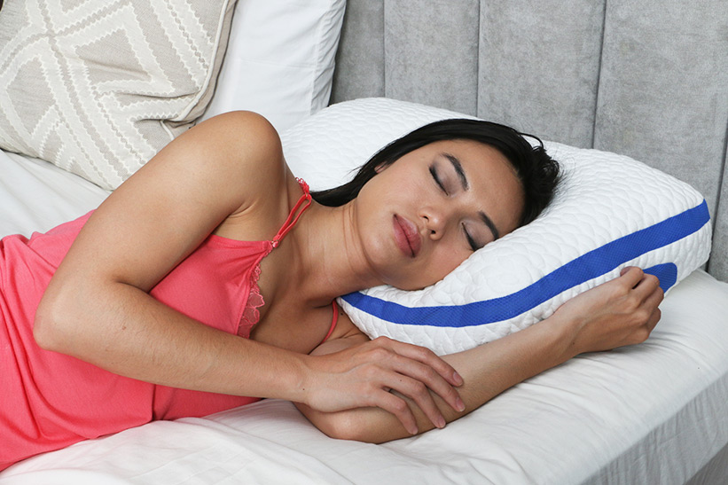 Get better rest. - Sleep allows your body to recover. If you aren't sleeping through the night, your body is missing out on the opportunity to restore and regain the energy it used during the day. Our pillow allows you to get a full night's rest so you wake up feeling refreshed.