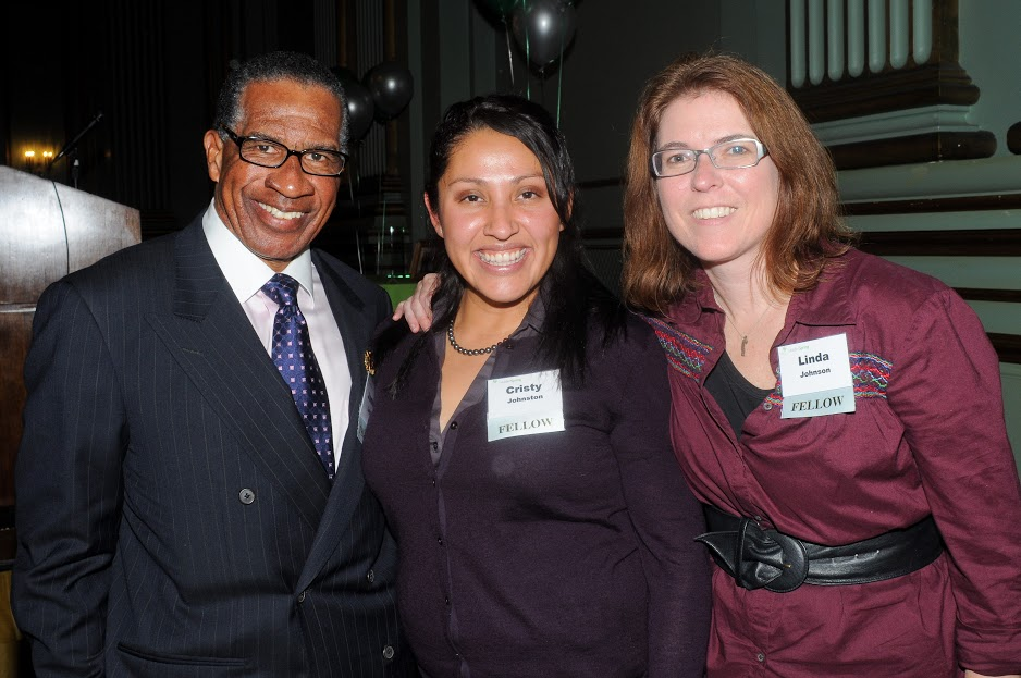 Our LeaderSpring Alumni. Left to right: James Loyce ('11), Cristy Johnston-Limon ('09), and Linda Johnson ('09)