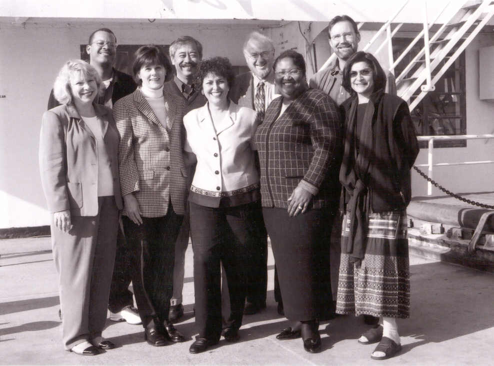 2001 First Leadership Council with executive director Cynthia Chavez
