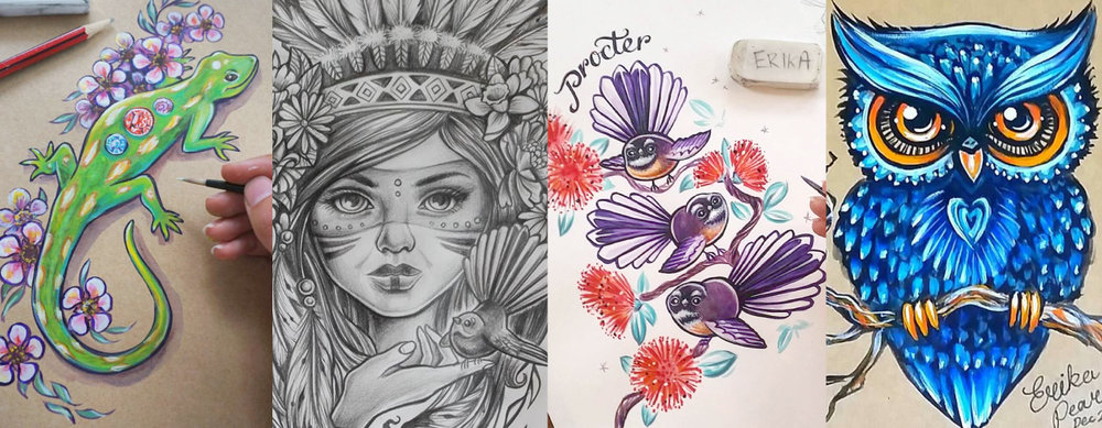 TATTOO DESIGN — ERIKA PEARCE