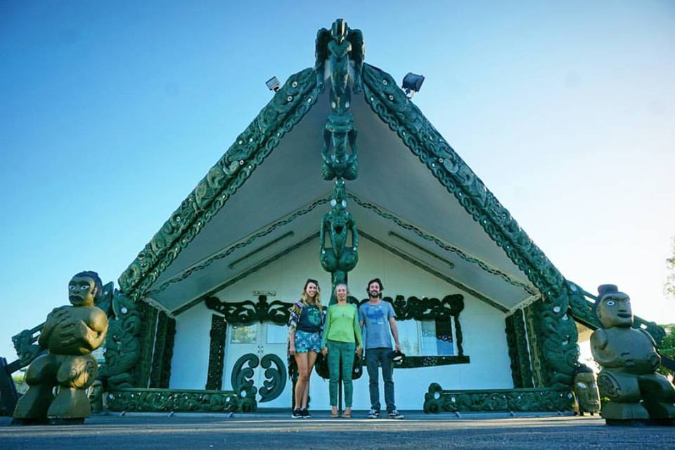 Matahiwi Marae with Jenny and Oliver from Sustainable Coastlines