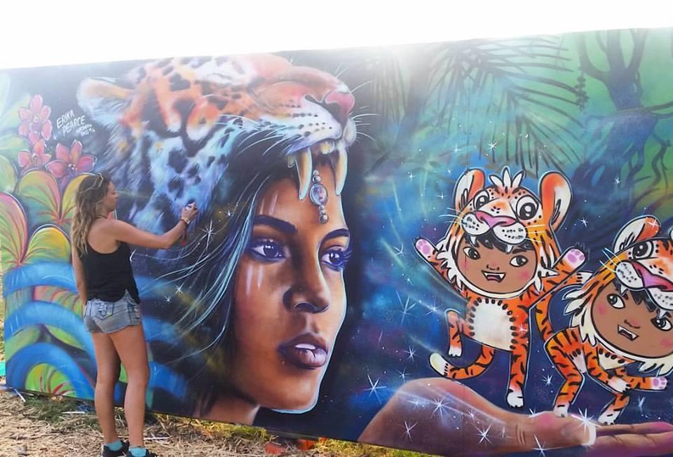 Northern Bass Live mural painting Erika Pearce.jpg