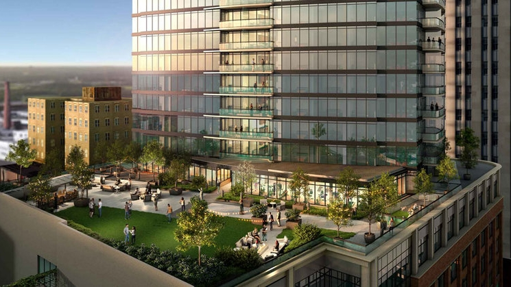 6TH FLOOR PARK - - Gathering Place + Urban Lifestyle- State-of-the-Art Fitness Center- Incredible Views of Durham- Fenced-in Dog Park- BBQ Grill, Fire Pit, Lounge Seating