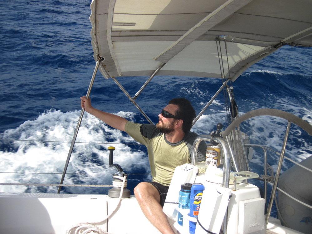 Sailing School student